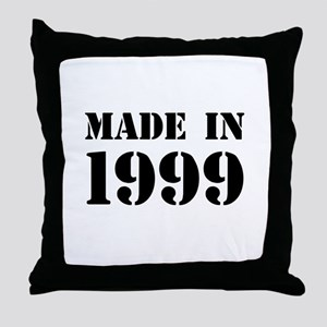 Made in 1999 Throw Pillow