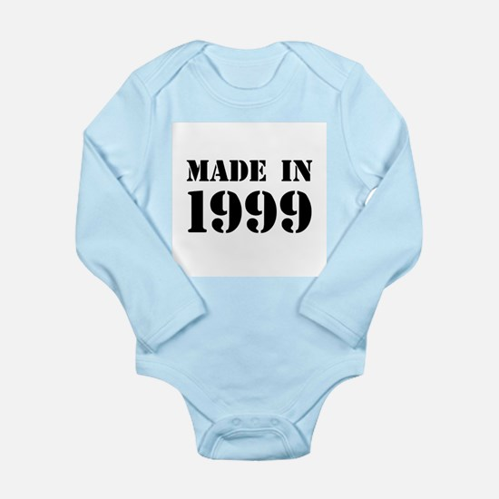Made in 1999 Body Suit
