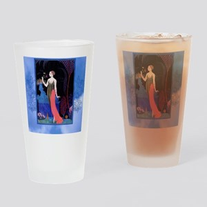 Barbier Night Roses Drinking Glass