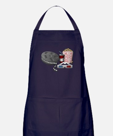 3D Cinema Apron (dark)