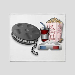3D Cinema Throw Blanket