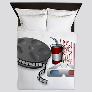 3D Cinema Queen Duvet