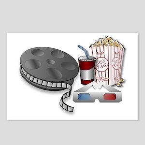 3D Cinema Postcards (Package of 8)