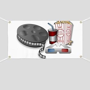 3D Cinema Banner