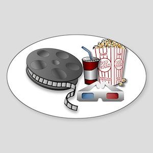3D Cinema Sticker