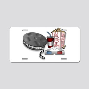 3D Cinema Aluminum License Plate