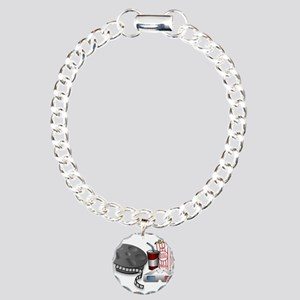 3D Cinema Charm Bracelet, One Charm