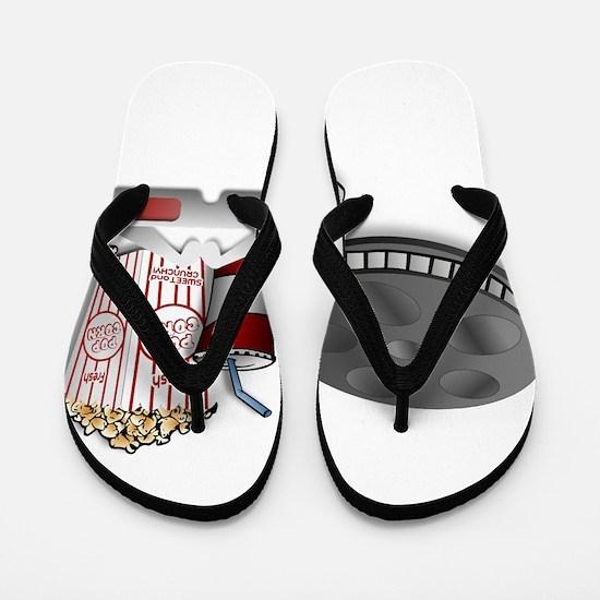 3D Cinema Flip Flops