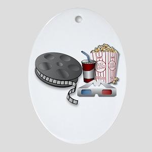 3D Cinema Ornament (Oval)