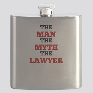 The Man The Myth The Lawyer Flask