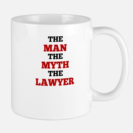 The Man The Myth The Lawyer Mugs