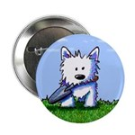 "Garden Helper Westie Pup 2.25"" Button (100 pack)"