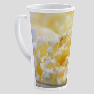 Popcorn Custom Art Designed 17 oz Latte Mug