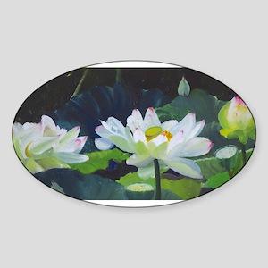 Lotus Pond Sticker