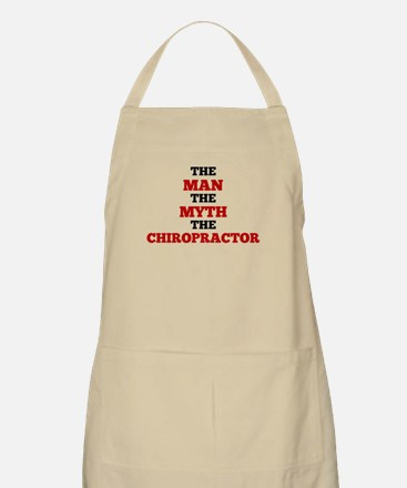 The Man The Myth The Chiropractor Apron