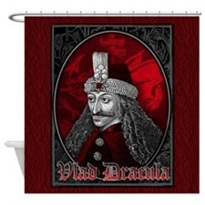 Vlad Dracula Gothic Shower Curtain