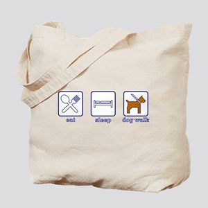 Eat. Sleep. Dogwalk. Tote Bag