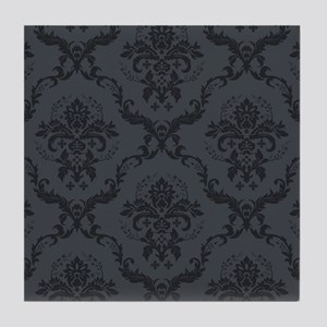 seamless-baroque-pattern Tile Coaster