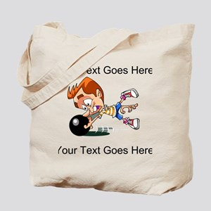 Bowling Man Tote Bag