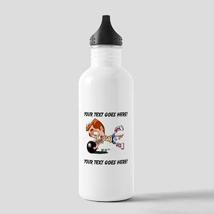 Bowling Man Water Bottle