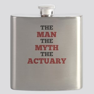 The Man The Myth The Actuary Flask