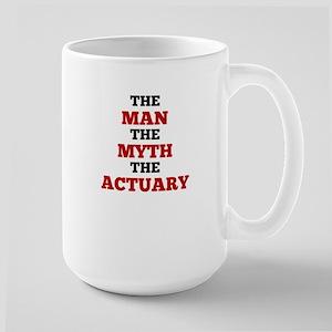 The Man The Myth The Actuary Mugs