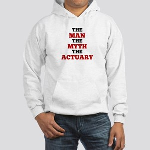 The Man The Myth The Actuary Hoodie