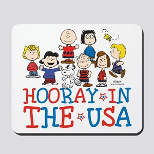 Hooray in the USA Mousepad