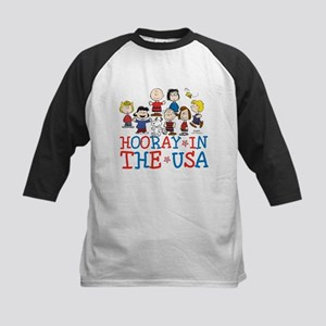 Hooray in the USA Kids Baseball Jersey