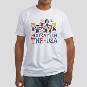 Hooray in the USA Fitted T-Shirt