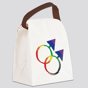 MALE/MALE gay Canvas Lunch Bag
