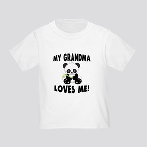 My Grandma Loves Me Panda T-Shirt