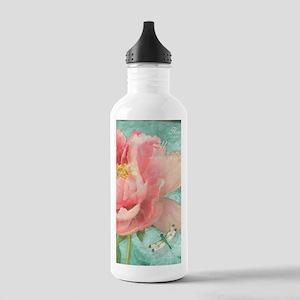 Fleurs - Peony Garden Stainless Water Bottle 1.0L