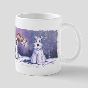 Wire Fox Winter Mugs