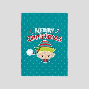 Christmas Elf 5'x7'Area Rug
