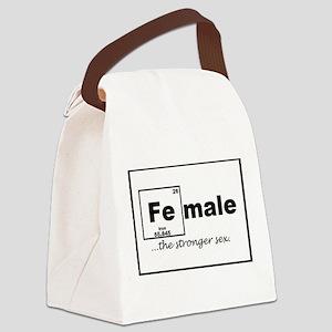 FEmale Canvas Lunch Bag