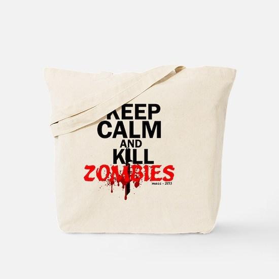 Keep calm kill vampires Tote Bag
