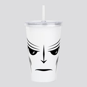 Alien Face Acrylic Double-wall Tumbler