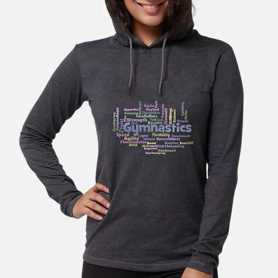 Gymnastics Word Cloud Long Sleeve T-Shirt