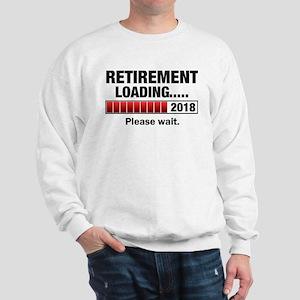 Retirement Loading 2018 Sweatshirt