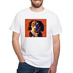 Coon Hound White T-Shirt