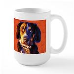 Coon Hound Large Mug