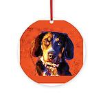 Coon Hound Ornament (Round)