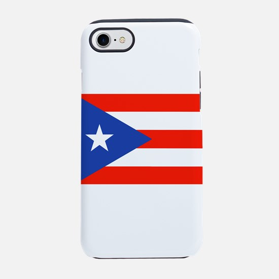 Boricua Bandera Puerto Rican iPhone 8/7 Tough Case