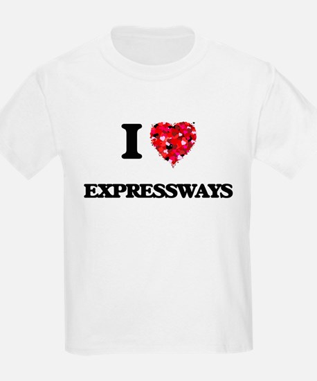 I love EXPRESSWAYS T-Shirt
