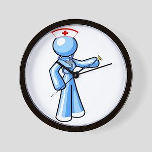Nurse Icon.png Wall Clock