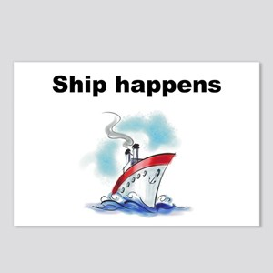Ship happens Postcards (Package of 8)