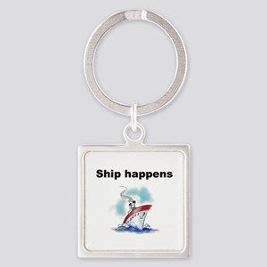 Ship happens Keychains