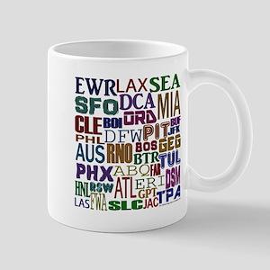 Airport Codes Mug