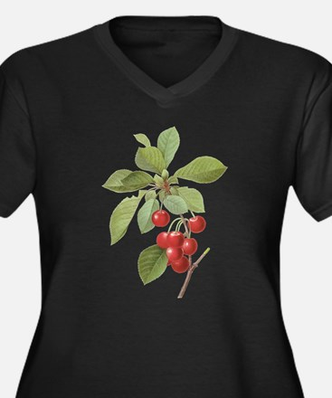 Vintage Cherries by Redoute Plus Size T-Shirt